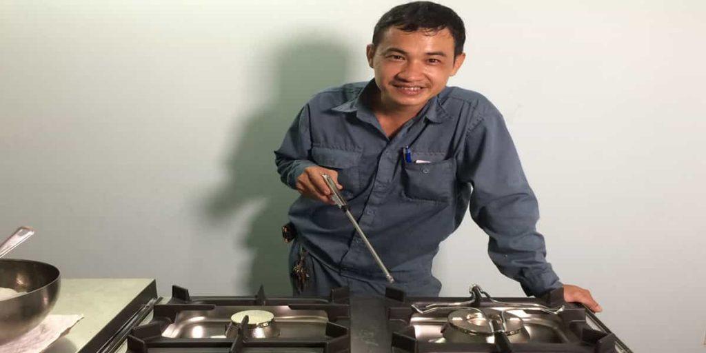 Sửa Bếp Ga Trần Thiện