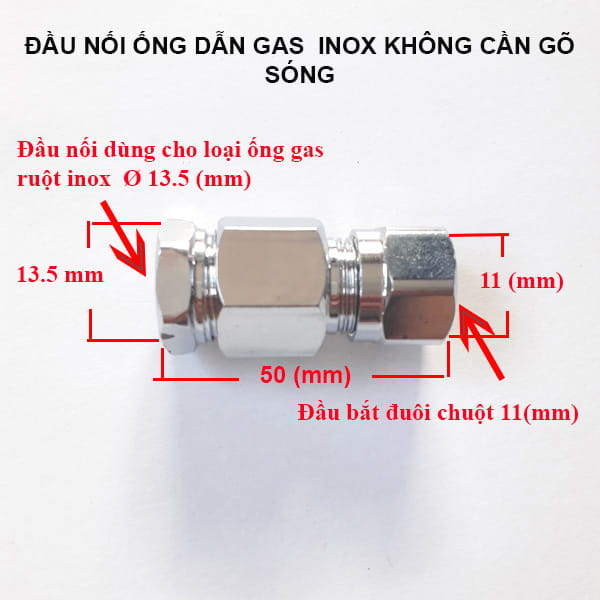 Dau-noi-ong-dan-gas-inox-khong-go-song
